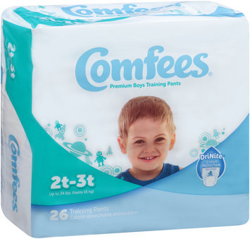 CMF-B2 Comfees® Boy Training Pants Size 2T-3T, 26 count