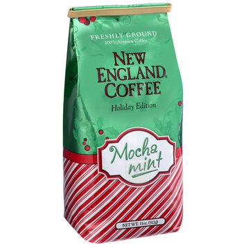 New England® Coffee Freshly Ground Mocha Mint Coffee 11 oz. Bag