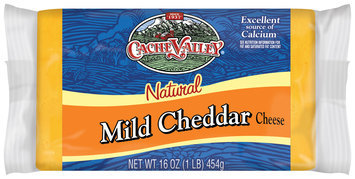 Cache Valley Natural Mild Cheddar Cheese 1 Lb Package