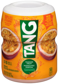 Tang Passion Fruit Drink Mix 18 oz. Canister
