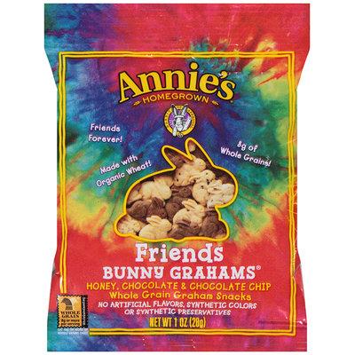 Annie's Homegrown® Bunny Grahams® Friends Whole Grain Graham Snacks 1 oz. Pouch