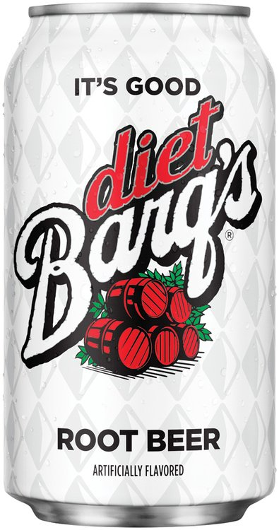 Barq's Diet Root Beer 12 oz Can