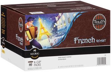 Tully's® Coffee French Roast Extra Bold, Dark Roast Arabica Coffee 80 ct. K-Cups 32.1 oz. Box