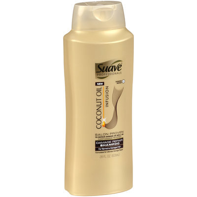 Suave® Professionals Coconut Oil Infusion Damage Repair Shampoo 28 fl. oz. Squeeze Bottle