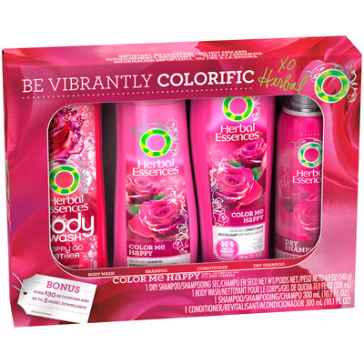 Color Me Happy Herbal Essences Color Me Happy Holiday Pack 4 ct Box