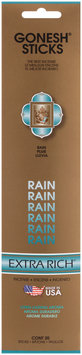 Gonesh® Extra Rich® Rain Incense Sticks 20 ct Carded Pack