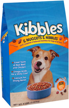 Kibbles & Nuggets & Nibbles Dog Food 4 lb. Bag