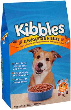 Kibbles & Nuggets & Nibbles Dog Food 4 lb. Bag