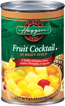 Haggen® Fruit Cocktail in Heavy Syrup 15.25 oz Can