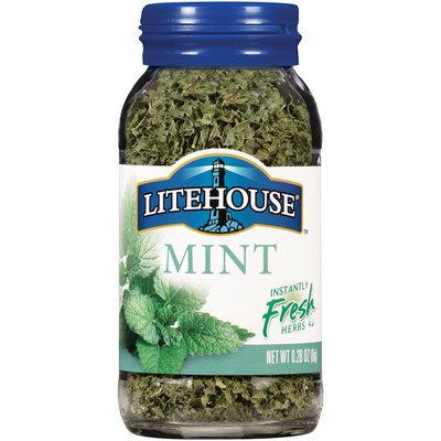 Litehouse® Mint Freeze-Dried Herbs 0.28 oz. Glass Bottle