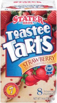 Stater Bros. Toastee Tarts Strawberry Toaster Pastries 8 Ct Box