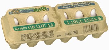 Crystal Farms Large Grade AA Eggs 12 Ct Carton