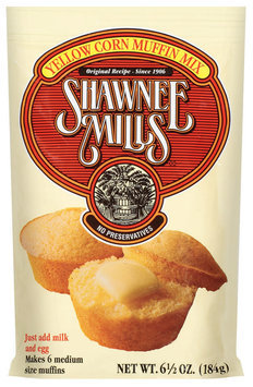 Shawnee Mills Yellow Corn Muffin Mix 6.5 Oz Packet