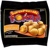 SuperPretzel® Cheddar Cheese Filled Poppers 7 oz. Bag
