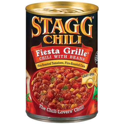 STAGG CHILI Fiesta Grille W/Beans Chili 15 OZ CAN
