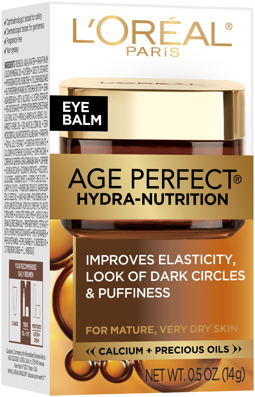 L'Oréal® Paris Age Perfect® Hydra-Nutrition Eye Balm 0.5 oz. Box