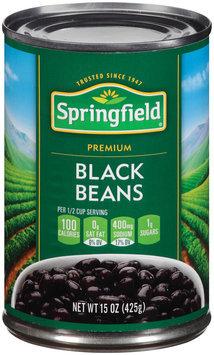 Springfield® Premium Black Beans 15 oz. Can
