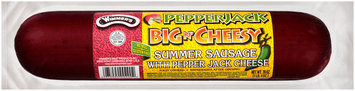 Wimmer's® Big 'N Cheesy Pepper Jack Summer Sausage 20 oz. Pack