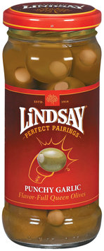 Lindsay Perfect Pairings Punchy Garlic Stuffed Queen Olives