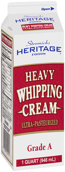 Stremicks Heritage Foods® Heavy Whipping Cream 1 qt. Carton