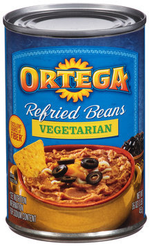 Ortega® Vegetarian Refried Beans 16 oz. Can