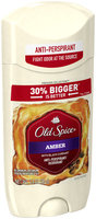 Fresher Collection Old Spice Fresher Collection Amber Scent Invisible Solid Men's Antiperspirant & Deodorant 3.4 oz