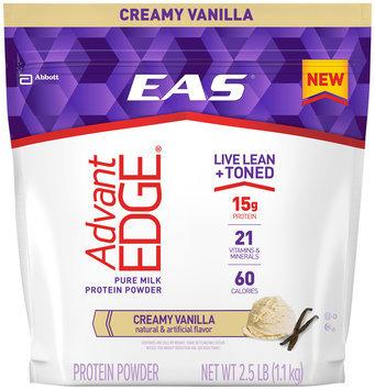 EAS® AdvantEDGE® Creamy Vanilla Pure Milk Protein Powder 2.5 lb. Bag
