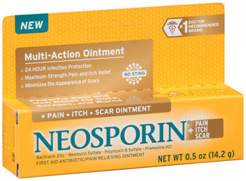 Neosporin® Multi-Action + Pain Itch Scar First Aid Antibiotic/Pain Relieving Ointment