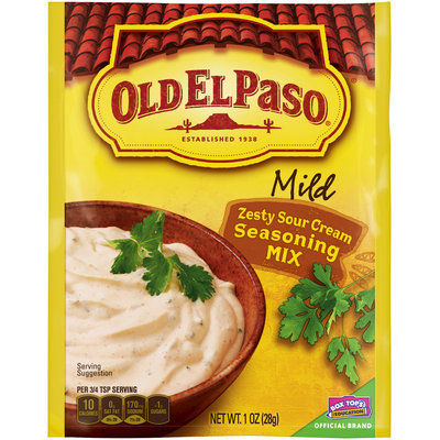 Old El Paso® Zesty Sour Cream Seasoning Mix