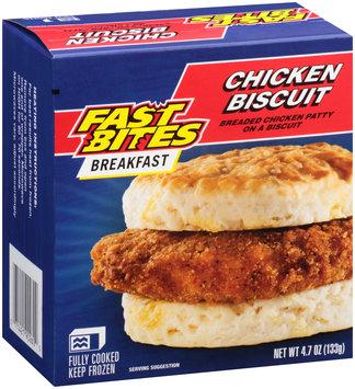 Fast Bites Breakfast Chicken Biscuit