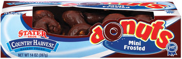 Stater Bros. Mini Frosted Donuts 14 Oz Box