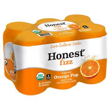 Honest® Fizz Organic Orange Pop Soda 6-12 fl. oz. Cans