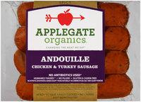 Applegate Organics® Andouille Spicy Chicken & Turkey Sausage 4 ct Pack