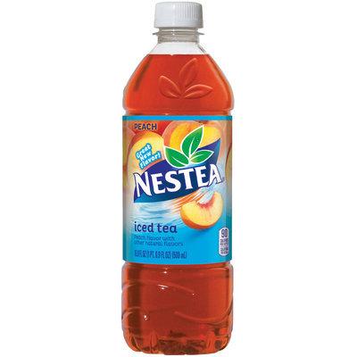 NESTEA Iced Tea, Peach 16.9-ounce plastic bottles