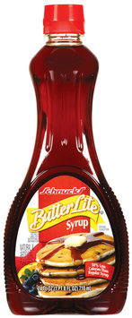 Schnucks Butter Lite Syrup 24 Oz Squeeze Bottle