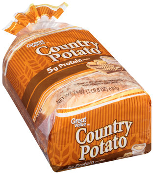 Great Value™ Country Potato Bread 24 oz. Loaf