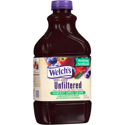 Welch's® 100% Juice Unfiltered Harvest Apple Grape
