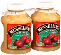 Musselman's® Organic Unsweetened Apple Sauce