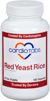 CardioTabs® Red Yeast Rice Dietary Supplement Capsules 120 ct Bottle