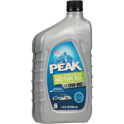 Peak® SAE 0W-20 Full Synthetic Motor Oil 1 qt. Bottle
