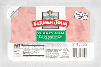 Farmer John® Turkey Ham 12 oz. Pack