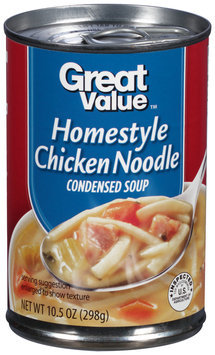 Great Value™ Homestyle Chicken Noodle Condensed Soup 10.5 oz. Can