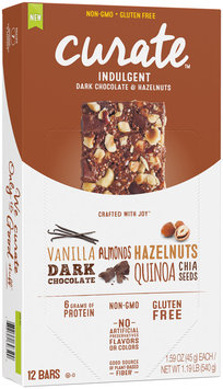 Curate™ Indulgent Snack Bars 12-1.59 oz. Packs