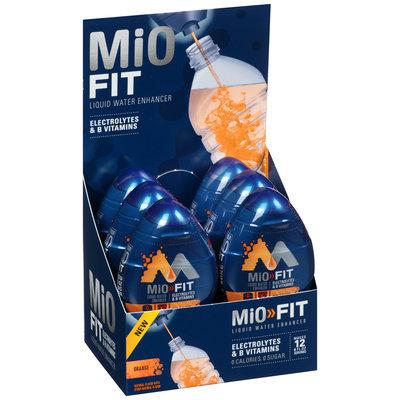 MiO Fit Orange Liquid Water Enhancer 6-1.08 fl. oz. Bottles