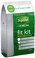 Depend® for Men Assorted Fit Kit