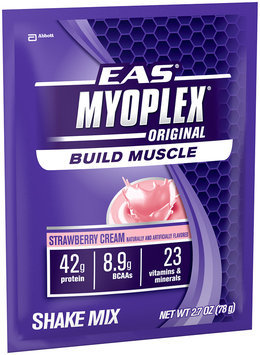 EAS Myoplex Original Strawberry Cream 2.7 Oz Nutrition Shake Mix 20 Ct Box