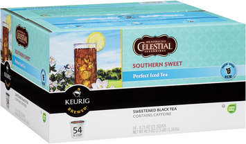 Celestial Seasonings® Black Tea Southern Sweet Perfect Iced 0.75 oz K-Cup 54 ct Box