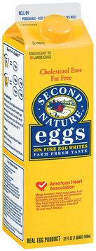 Second Nature Liquid Fat Free Egg Product 32 Fl Oz Carton