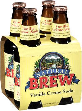Natural Brew® Vanilla Creme Soda 4-12 oz Bottles