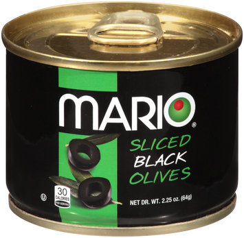 Mario® Sliced Black Olives